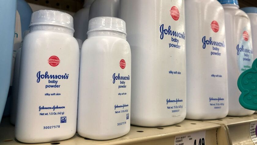 Johnson & Johnson has repeatedly said that its talcum powder products don't contain asbestos or cause cancer.