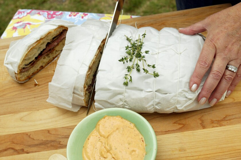 Easy lunch and dinner recipes: Make-ahead sandwiches, great for picnics and more