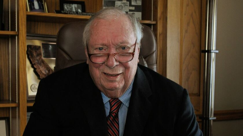 Judge Stephen Reinhardt, seen in 2009, spent 38 years on the U.S. 9th Circuit Court of Appeals after his appointment by President Carter.