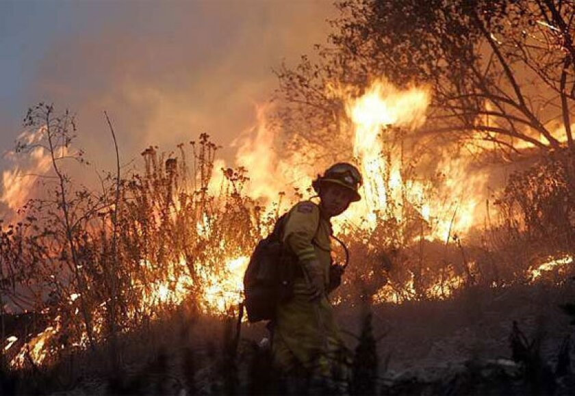 Global warming could lead to more wildfire in California: study