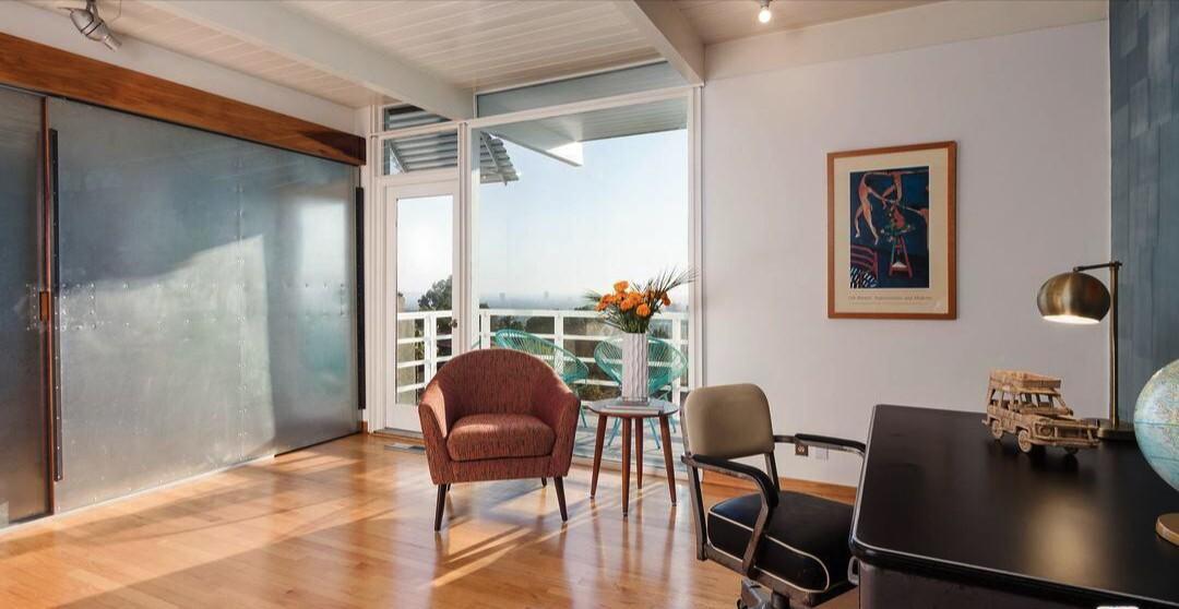 Jordan Wolfson's Los Feliz midcentury home