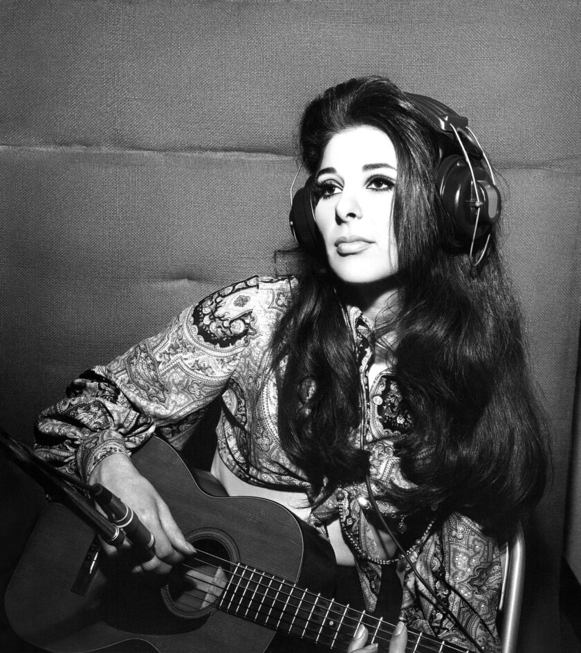 Bobbie Gentry recording at FAME Studios Muscle Shoals 1969