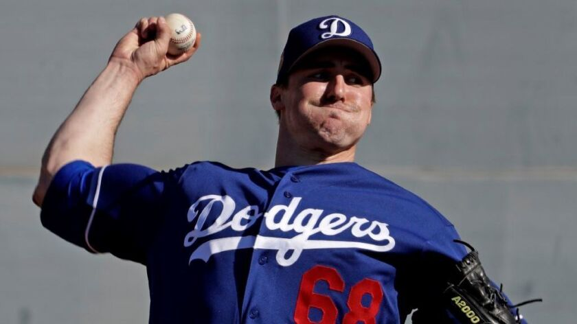 An ability to start or pitch in relief could give Ross Stripling a good shot to be on the Dodgers staff out of spring training.