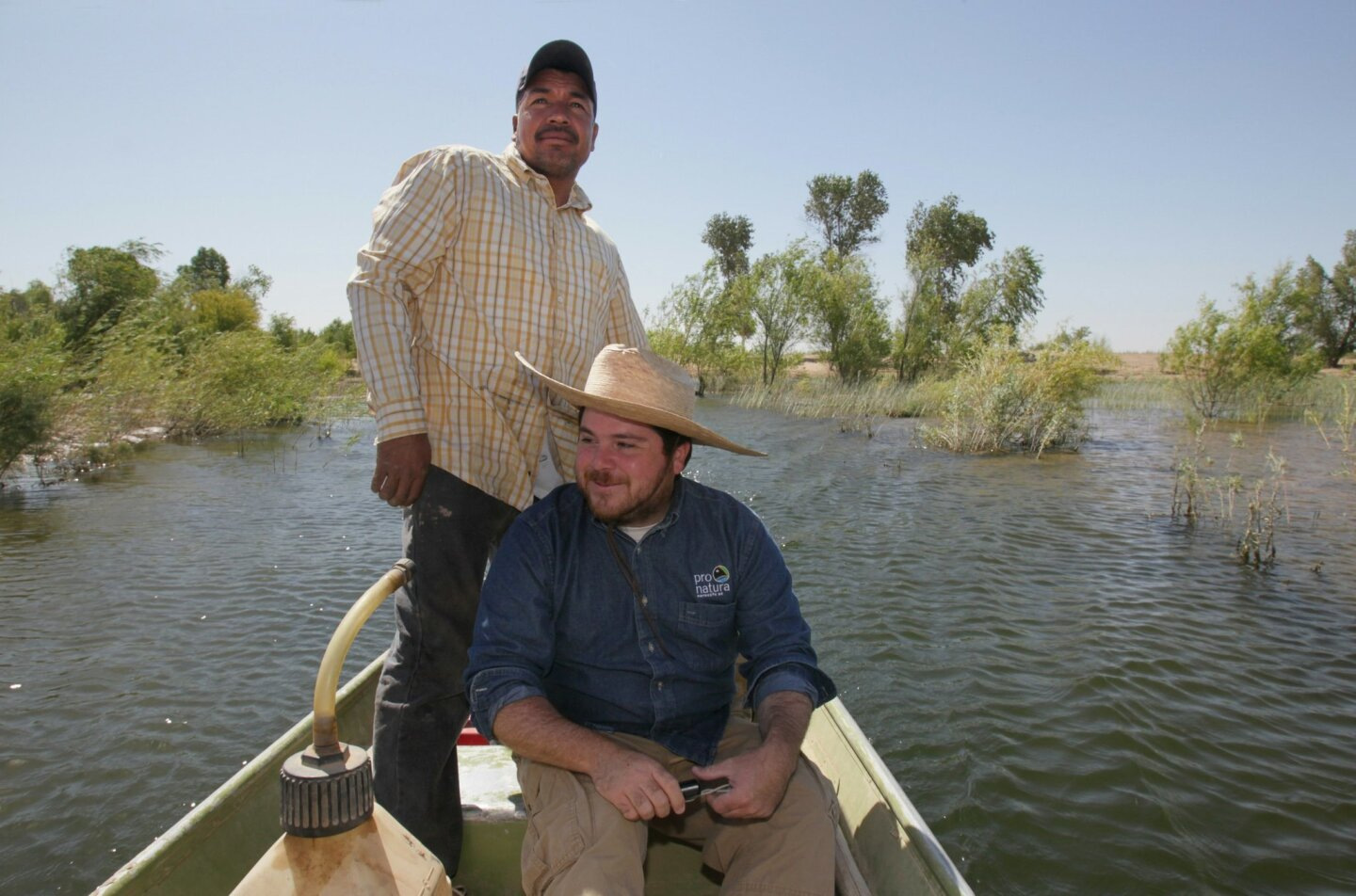Water release brings life to River Delta