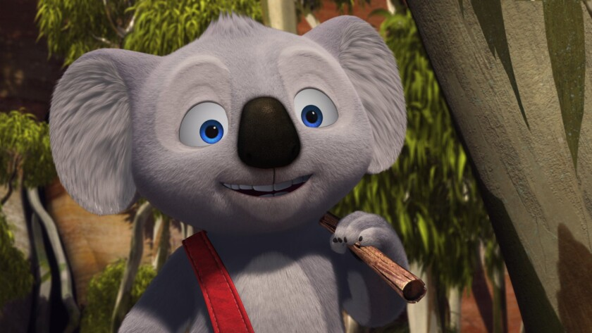 """Blinky Bill, voiced by Ryan Kwanten, appears in a scene from the animated film """"Blinky Bill: The Movie."""""""