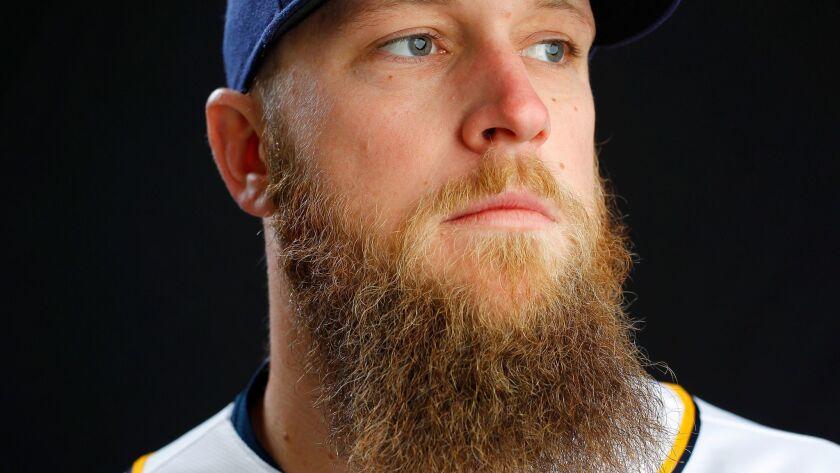 Padres pitcher Kevin Quackenbush.