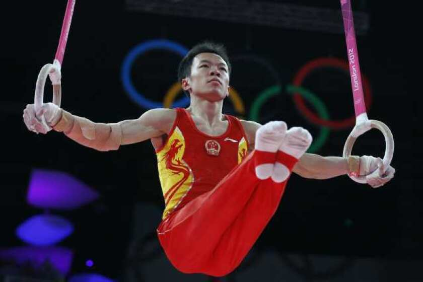 London Olympics: China men's gymnastics team wins gold; U.S. 5th