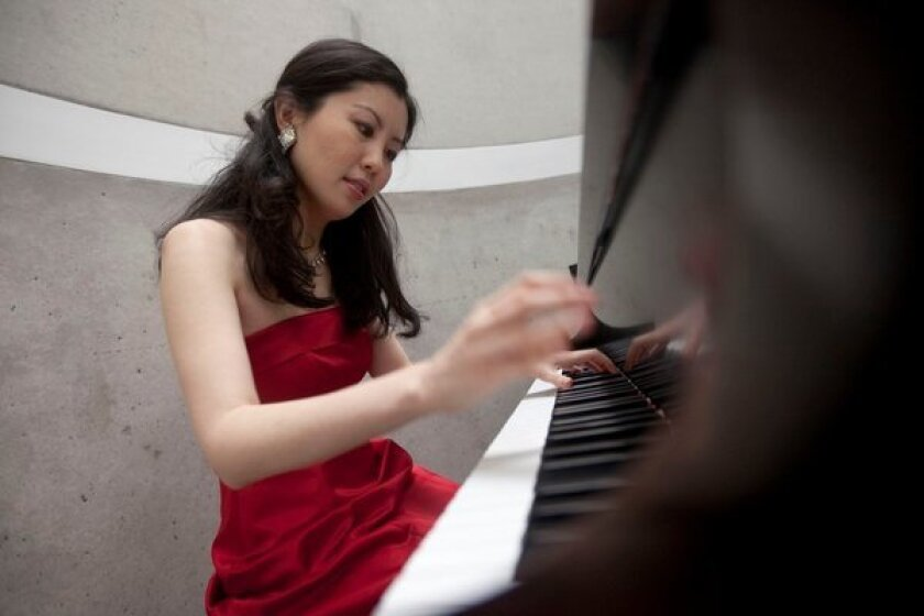 Researcher and pianist Chia-Jung Tsay