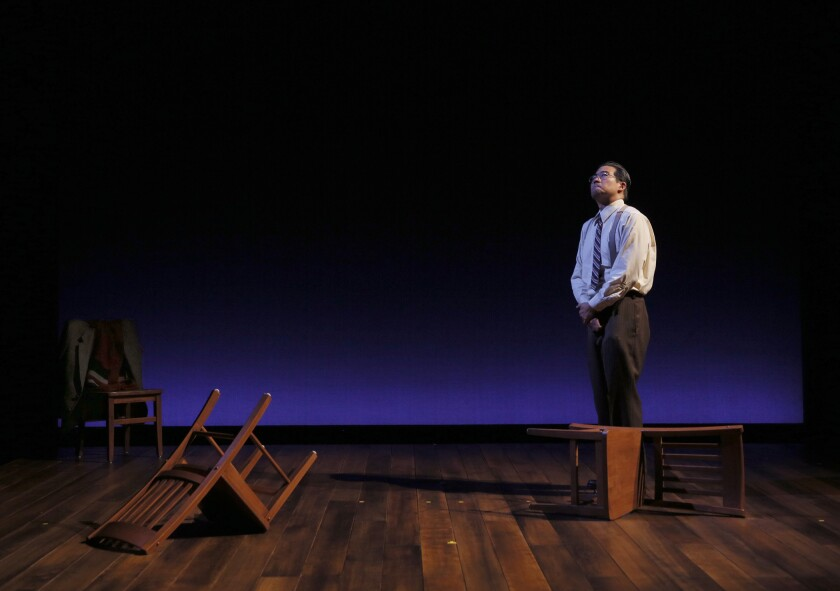 """Ryun Yu stars in the San Diego Rep production of """"Hold These Truths."""""""
