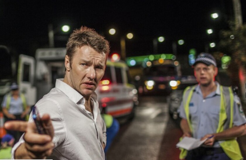 """Joel Edgerton plays Malcolm Toohey, a compromised detective in """"Felony."""""""