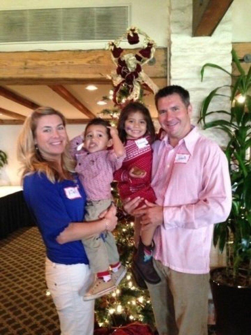 The Thomas family. Courtesy photo