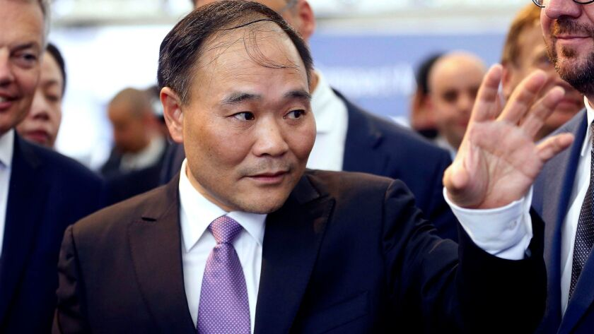 Chinese billionaire Li Shufu controls Geely, which already owns Volvo Cars.