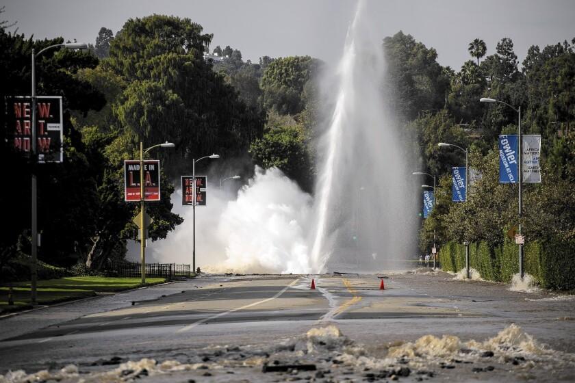 Sunset Boulevard geyser