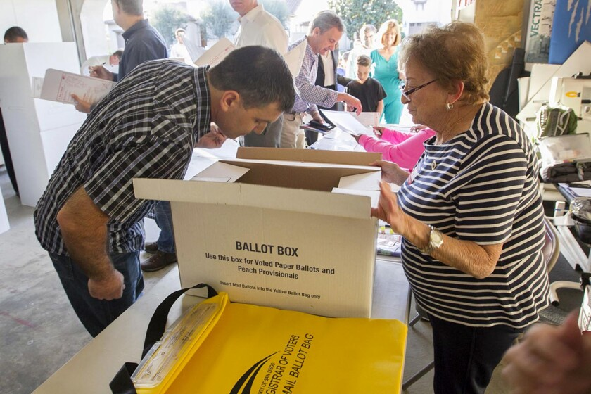 San Diego polls open