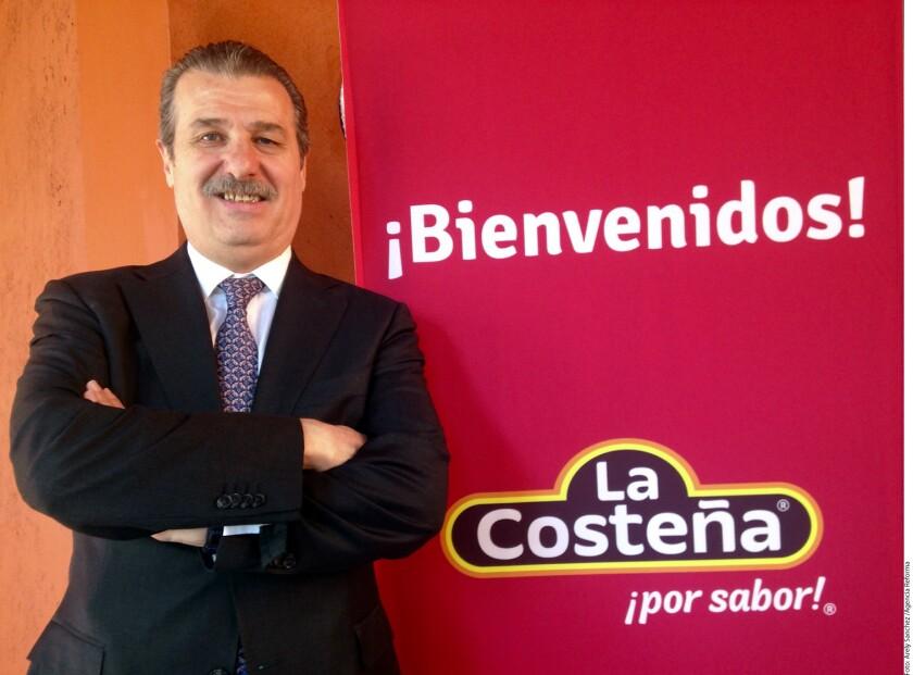 La Costeña logró un aumento en sus ventas de 10 por ciento este año, cifra que muestra una aceleración frente al crecimiento de 8 por ciento logrado en 2015, dijo Rafael Celorio Otero, director general de la compañía.