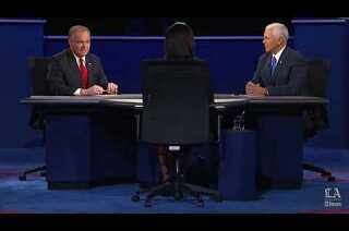 Watch the full vice presidential debate between Tim Kaine and Mike Pence