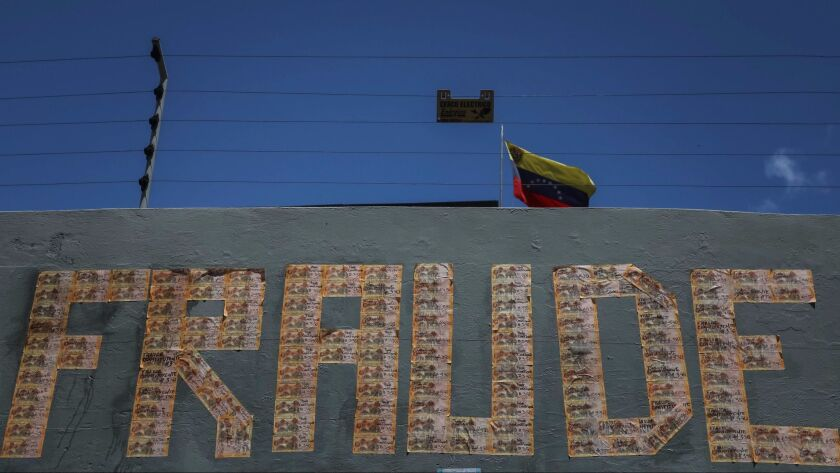 Tensions rise in Venezuela on eve of controversial election