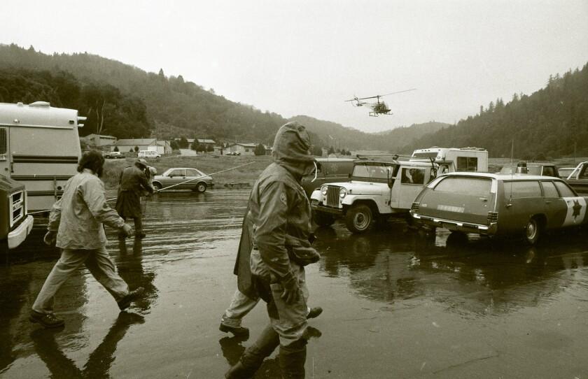 Rescue searchers