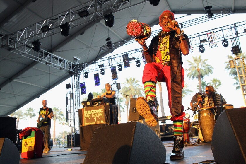 """Lee """"Scratch"""" Perry performs at the Coachella Valley Music & Arts Festival"""