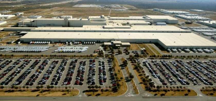 La planta de montaje de San Antonio en Texas.