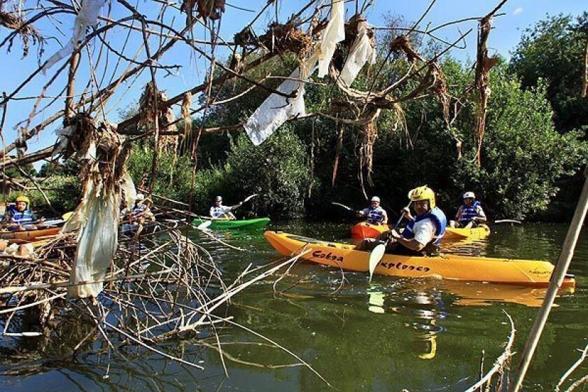 San Fernando Valley roundup: L.A. River ready for kayakers, Power goes out in Chastworth, and Police arrest alleged Burbank bike thief