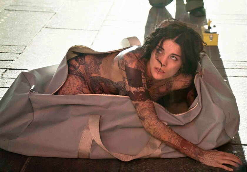 "Jaimie Alexander in NBC's ""Blindspot."""