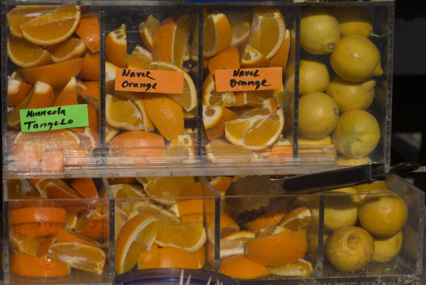 Bioengineered food: Most consumers would consider a tangelo -- a cross between a tangerine and a grapefruit -- to be natural even though it results from human-induced hybridization.