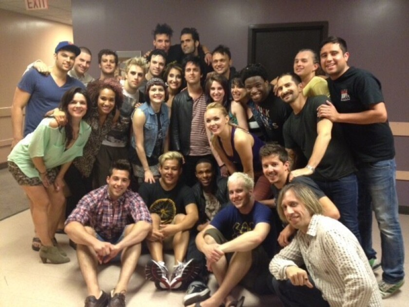 Green Day's Billie Joe Armstrong surprises 'American Idiot' cast in Costa Mesa