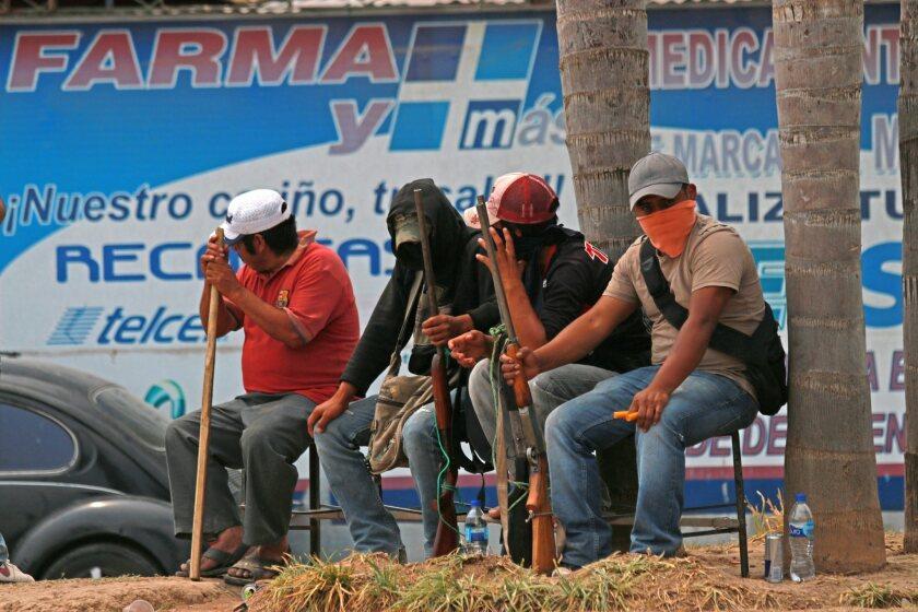 Takeover of Chilapa, Mexico