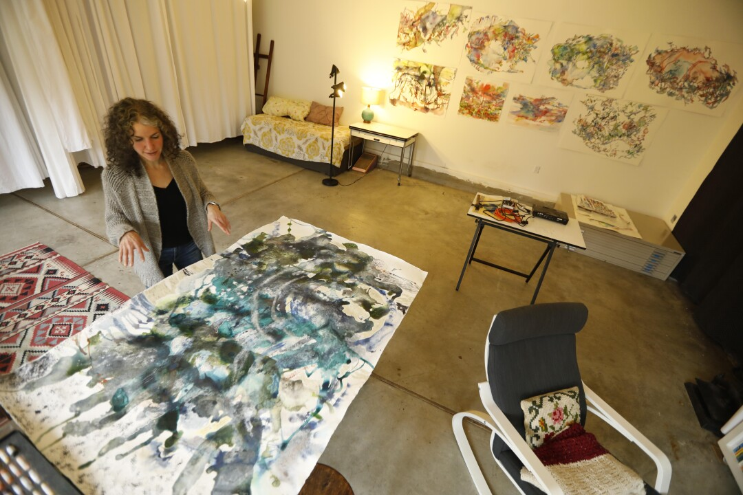 An artist set out to paint climate change. She ended up on a journey through...