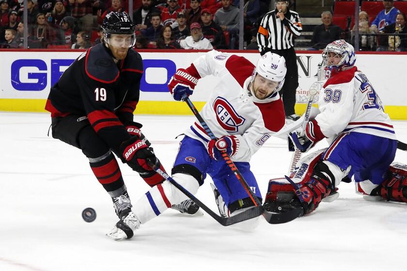 Canadiens Hurricanes Hockey