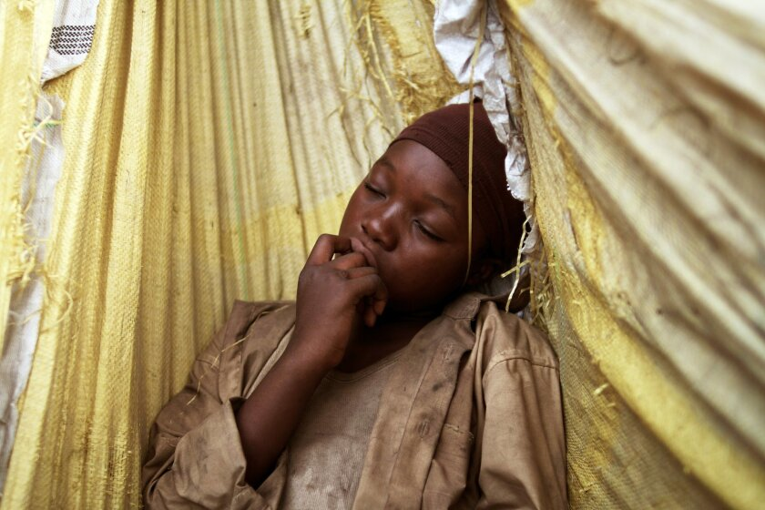 """Rachel Mwanza in """"War Witch,"""" which is set in an unnamed African nation. Tribeca Film"""