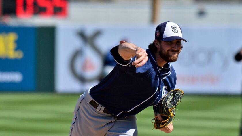 MLB: Spring Training-San Diego Padres at Los Angeles Angels