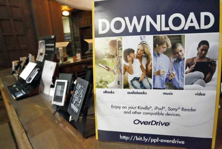 Interest in borrowing digital library books grows