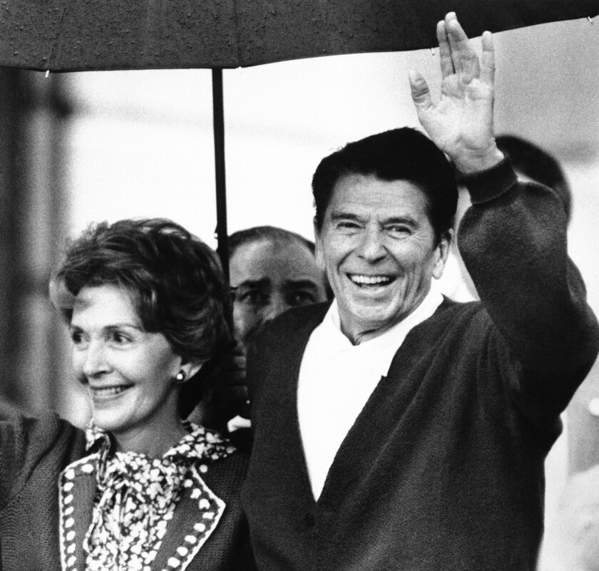 Many historians will tell you that the secret of Ronald Reagan's political success was his gift for storytelling.