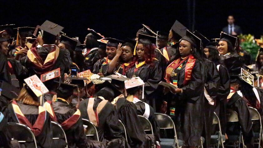 Students at Bethune-Cookman University in Florida turn their backs on commencement speaker Education