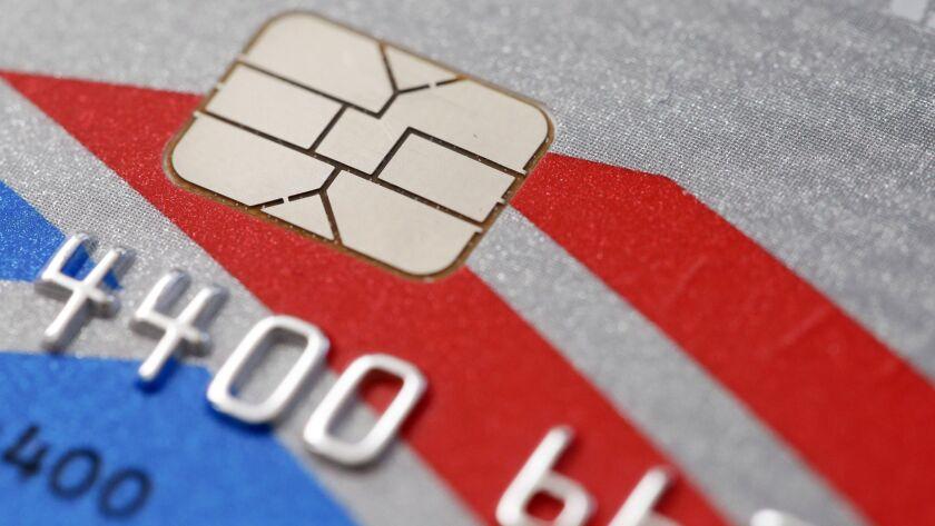 Chip-based credit card