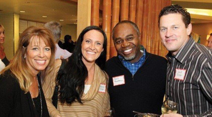 Karen Jaczko, Melanie Turner, Garry Thornton, David Turner (Photo: Jon Clark)