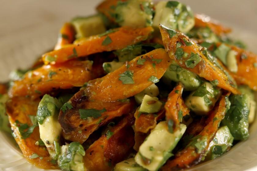 Recipe: Huckleberry's roasted carrots with avocado