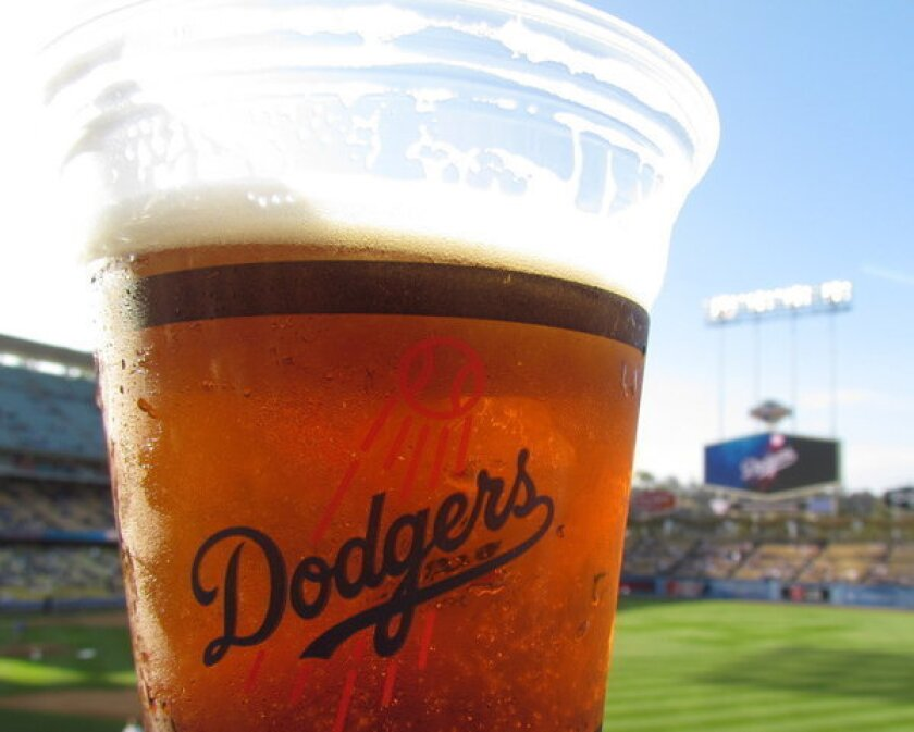 Think Blue Bars are located at each end of the concourse on the Loge Level, and a 12-ounce cup of one of the featured craft brands will set you back $10.