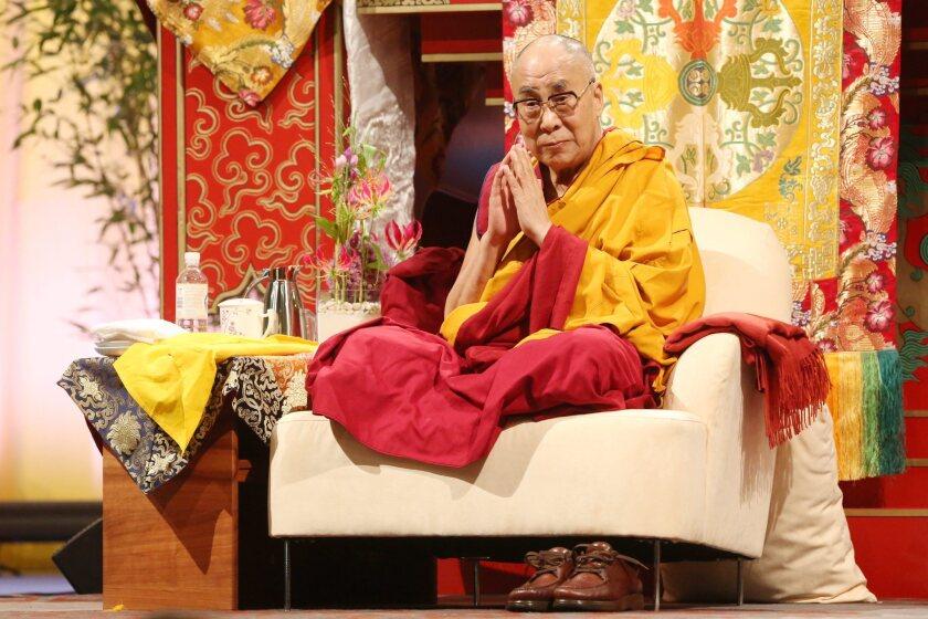 Dalai Lama visits  Hamburg, Germany