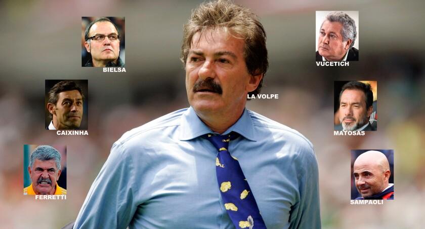 Los entrenadores que serían candidatos a tomar e mando del Tri.