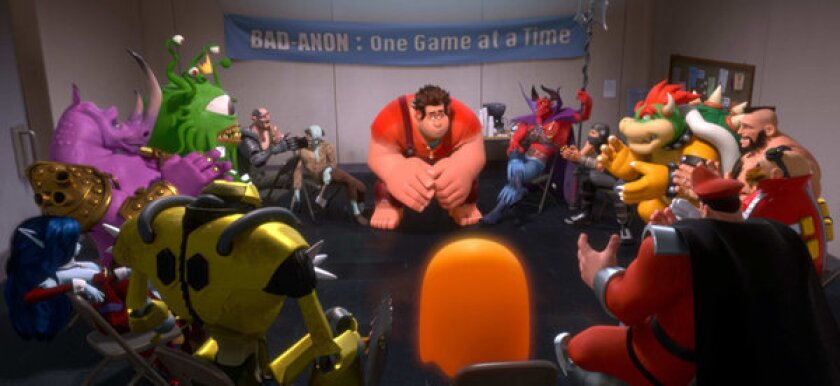 'Wreck-it Ralph' cheat code: Which video games get shout-outs?