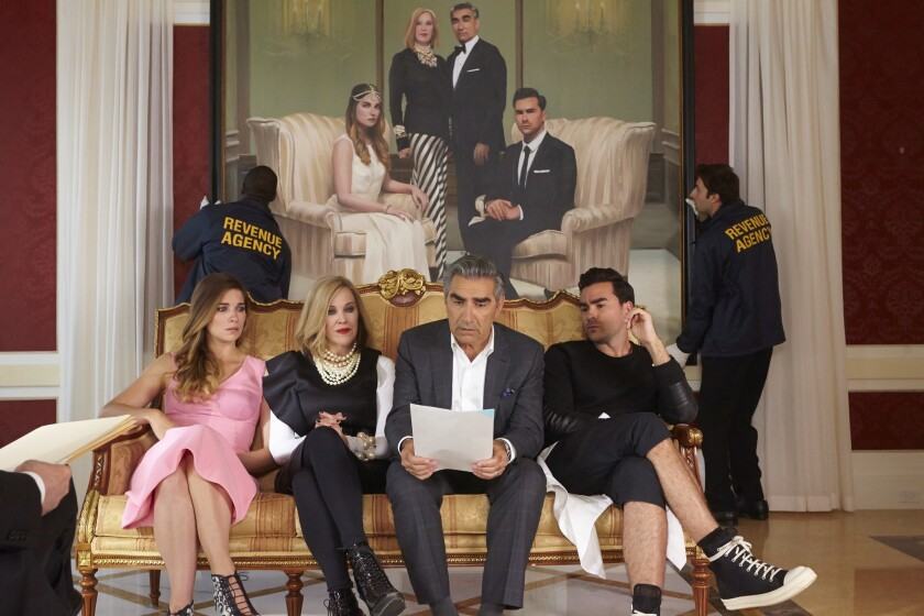 The cast of 'Schitt's Creek'