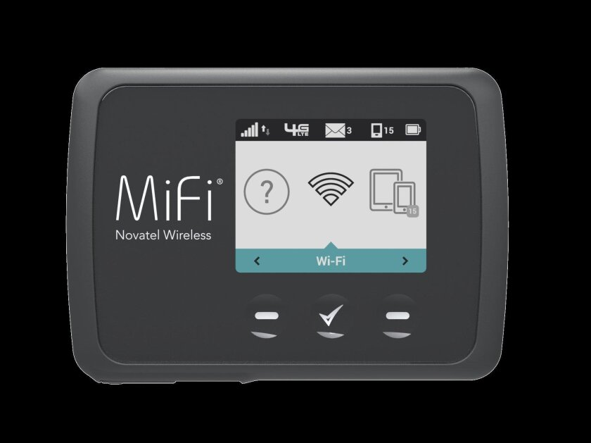 San Diego based Novatel Wireless invented the MiFi, a mobile hotspot that can links several wireless devices to the Internet