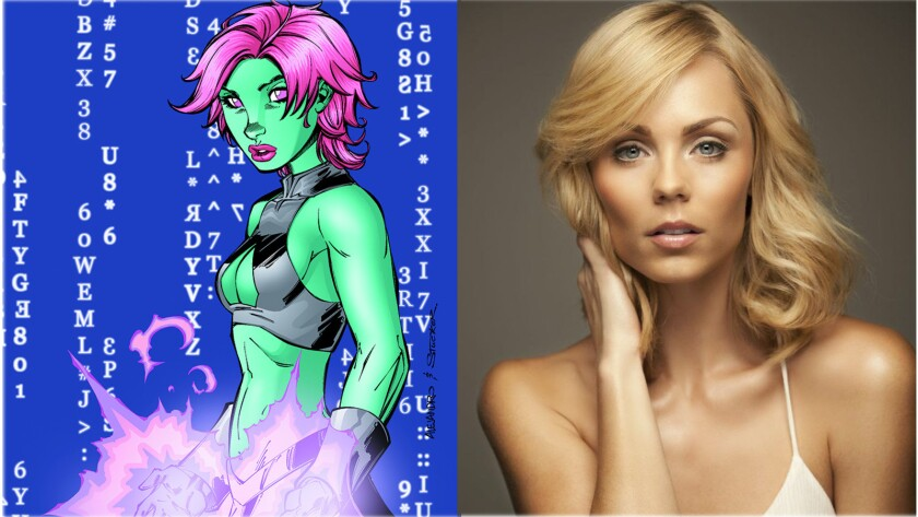 "Laura Vandervoort has been cast to play the DC Comics character Indigo in ""Supergirl."""