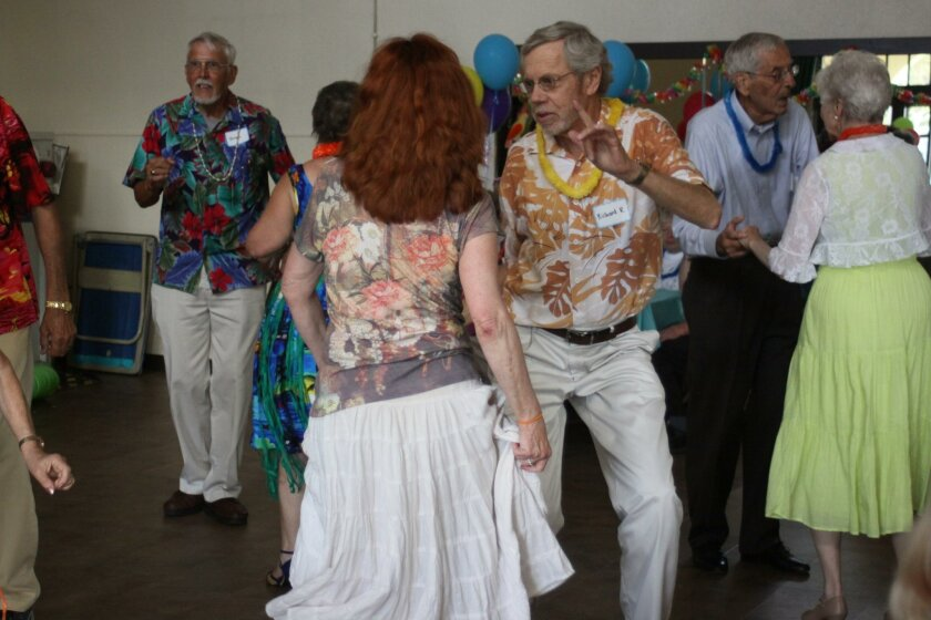 Cynthia and Rich Robertson do the twist