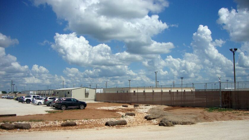 The South Texas Family Residential Center is the largest of the nation's three immigration detention