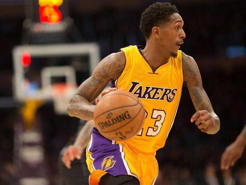 El jugador de Lakers Lou Williams. EFE/Archivo