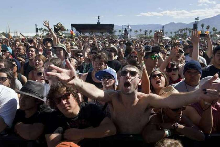 The Coachella Valley Music & Arts Festival crowd in 2012.